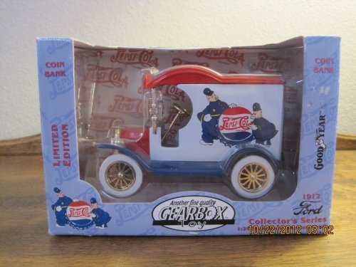 1912 Ford Coin Bank Collector's Series 1:24 Scale Heavy Die Cast Metal by Gearbox - 1