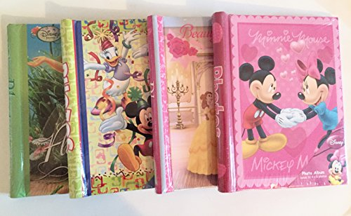 FOUR Photo album gift bundle - Disney World Disneyland Minnie Mickey Mouse Beauty (Mickey Mouse Pics compare prices)