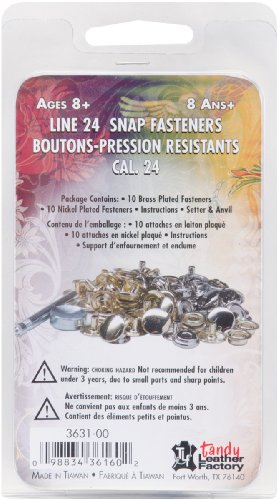 Purchase Tandy Leather Factory Easy-To-Do Series Line with 24-Snap Fasteners