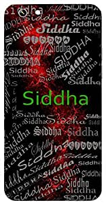 Siddha (Lord Shiva) Name & Sign Printed All over customize & Personalized!! Protective back cover for your Smart Phone : Moto G-4-Plus