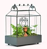 H Potter Barrel Roof Wardian Case Terrarium