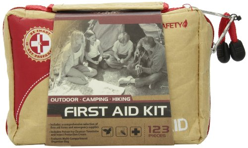 Be Smart Get Prepared 123 Piece First Aid Kit, Outdoor, 0.98 Pound (Get Outdoors compare prices)
