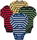 Carters 4 Pack Bodysuits - Stripes size 3 months