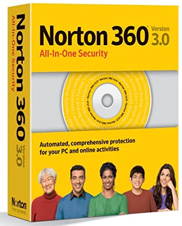 Norton 360 3.0 1-user/3 PC
