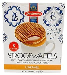 Daelmans stroopwafels,Caramel 10.94 oz. box