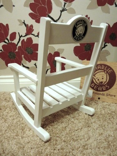 Charlie Bear Rocking Chair Plain