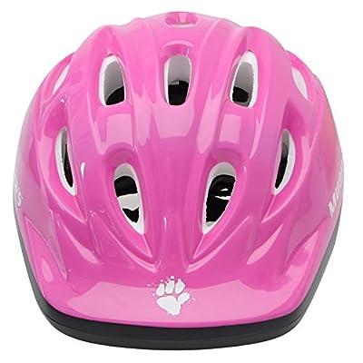 Muddyfox Kids Paws Helmet Girls Cycle Cycling Safety by Muddyfox
