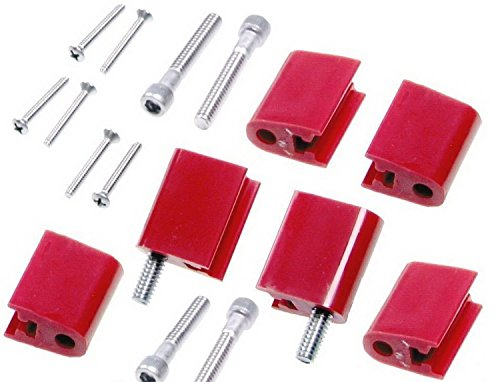 Taylor Cable 42726 Red Vertical Mounting Bracket for Clamp Style Wire Separators (Spark Plug Wire Mount compare prices)