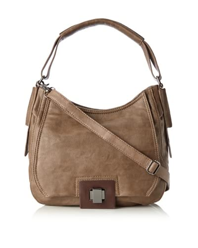 co-lab by Christopher Kon Women's Betsey Hobo Bag, Taupe