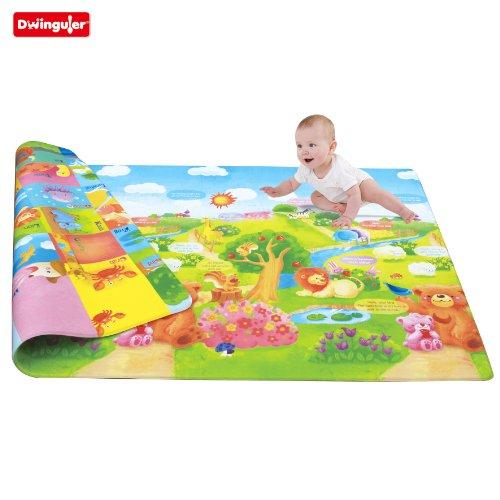 Dwinguler tappeto gioco per bambini ecologico - Tappeto per neonati ...