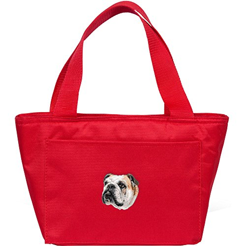 Cherrybrook Dog Breed Embroidered Cooler Bags - Red - Bulldog (Cooler Red Bull compare prices)