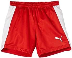 Puma Short EvoSpeed pour sport d'intérieur, pour garçon Rouge Rouge/blanc 11 ans