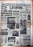 AURORE (L') [No 4912] du 23/06/1960 -...