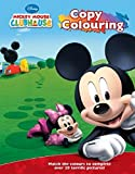 Disney Junior Mickey Mouse Clubhouse Copy Colouring Book With Crayons (Disney Activity)