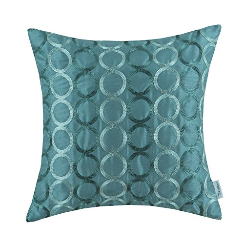 euphoria calitime cushion covers pillows shell teal ground