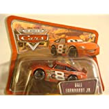 Short Card Dale Earnhardt Jr Disney Pixar World of Cars Collection 1 55 by