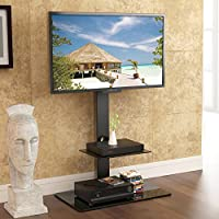 Fitueyes TT207001MB Swivel TV Stand and Mount for 32-65 Inch by fitueyes