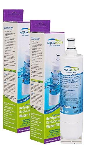2x AL 508SBS-Filtro dell'acqua per frigorifero, compatibile con SBS002-481281729632, 461950271171, 4396508 481281728986, Whirlpool, Smeg, Ariston, Hotpoint