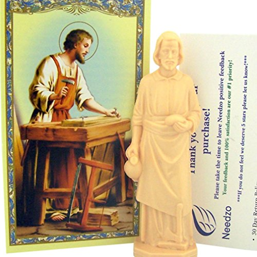 St Joseph Statue Home Seller Selling Kit Saint House Figurine and Instruction Prayers