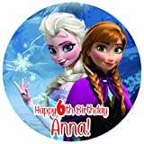 Disney Frozen Edible Image Cake Toppers Frosting Sheets