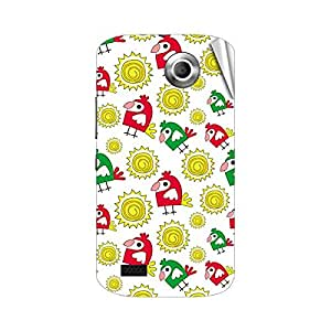 Garmor Designer Mobile Skin Sticker For Gionee E7 - Mobile Sticker
