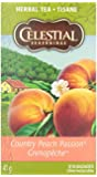 Celestial Seasonings Natural Herb Tea, Country Peach Passion, 20 tea bags