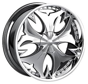 Mazzi Fatal 745 Chrome Wheel (20×9″/10×114.3mm)