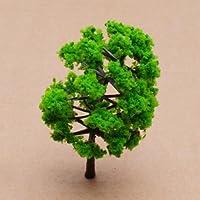 Model Tree Train Set Plastic Trunks Scenery Landscape HO N - 10PCS by SuntekStore Online