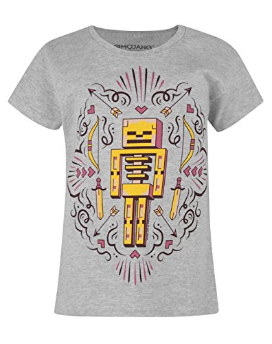 Official Minecraft Skelly Dreams Girl's T-Shirt