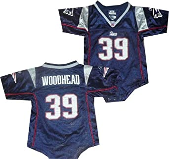 New England Patriots Danny Woodhead Navy Creeper Jersey (18 Months)