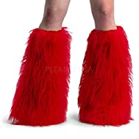 YETI-01, Size: 1, Color: Red Faux Fur by PleaserUSA