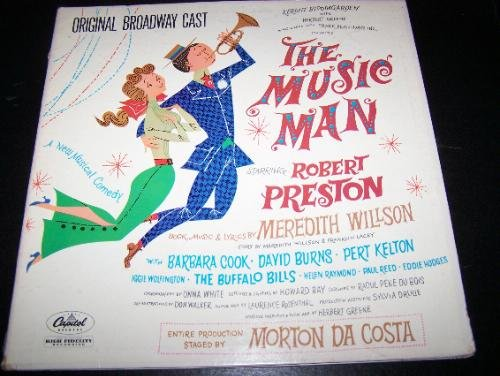 The Music Man Broadway Cast Recording Vinyl LP Record