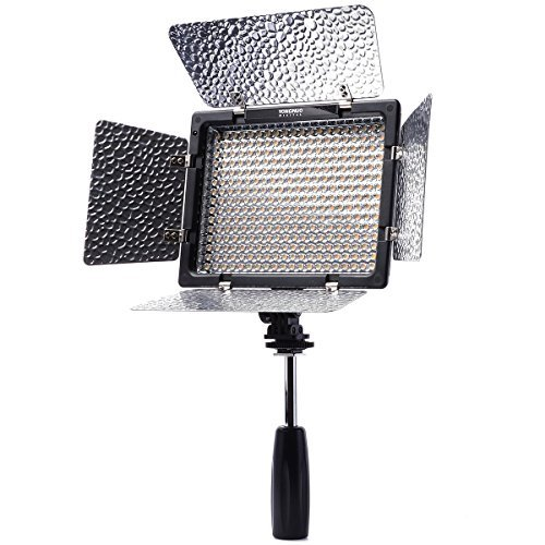 Pro 300 LED YN-300 II (3200K-5500K di temperatura di colore regolabile) Luce...