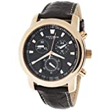 Akribos XXIV Men's AKR443RG Ultimate Quartz Chronograph Blac