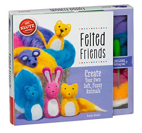 Felted Friends: Create Your Own Soft, Fuzzy Animals Craft Kit