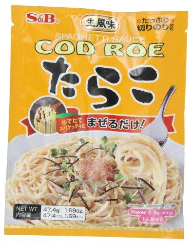 S&B Japanese Cod Roe Tarako Spaghetti Sauce, 1.69-Ounce (Asian Spaghetti Sauce compare prices)