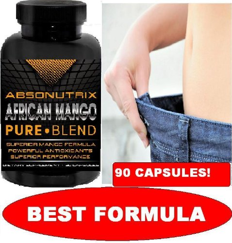 Absonutrix African Mango - 90 Slimming Capsules - Healthiest Way to Lose Weight!