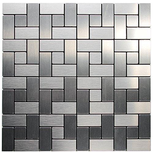 68 off royllent aluminum mosaic tile peel stick backsplash