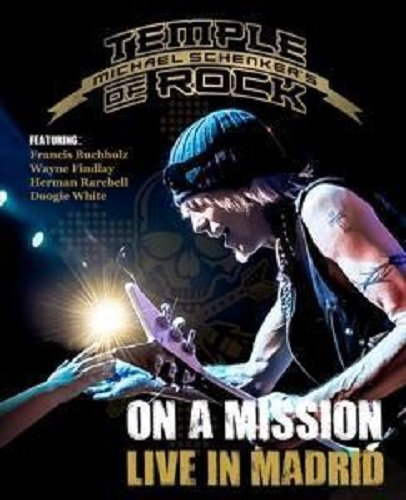 Blu-ray : Michael Schenker - On A Mission: Live In Madrid (Blu-ray)