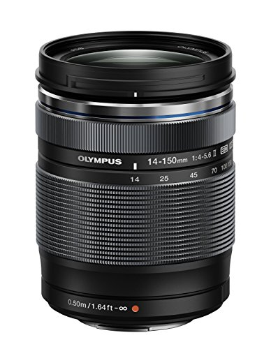 Olympus-14-150mm-f40-56-II-Lens-for-Micro-Four-Thirds-Cameras-Black