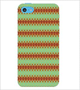 PrintDhaba Pattern D-5272 Back Case Cover for APPLE IPHONE 5C (Multi-Coloured)