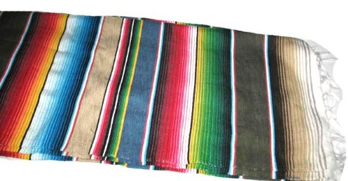 Mexican Cotton Blanket front-1081098