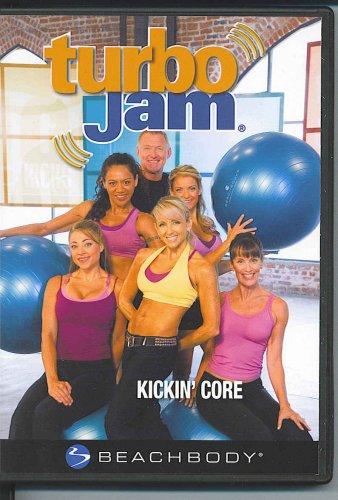 Turbo Jam Kickin' Core Dvd By Chalene Johnson front-326003