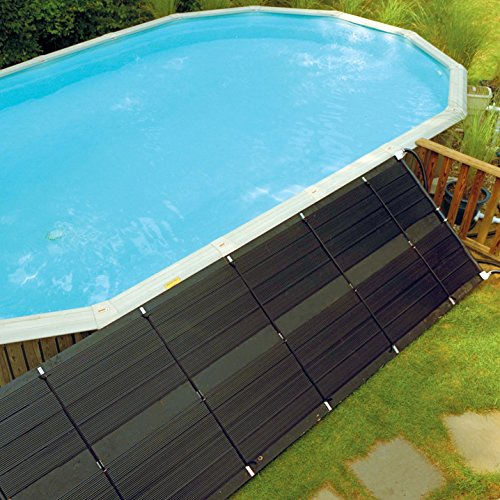 SmartPool Universal Swimming Pool Solar Heating Add On Panel - 4 x 10 Feet