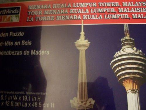 Art Mind Wooden Puzzle - Menara Kuala Lumpur Tower, Malaysia