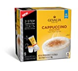 Gevalia Cappuccino Espresso Coffee Cups & Froth Packets (9 Count Box)