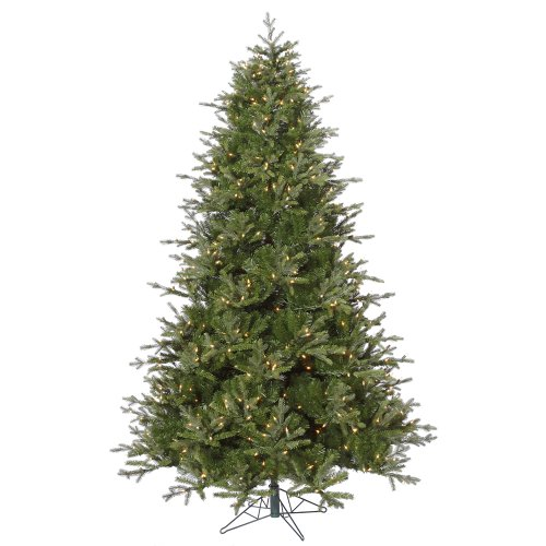 12-Pre-Lit-Madison-Frasier-Artificial-Christmas-Tree-Dura-Lit-Clear-Lights