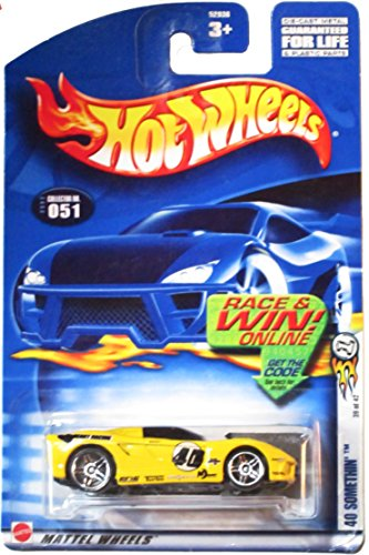 Hot Wheels 2002 No. 051 40 SOMETHIN' 39/42 1:64 Scale - 1