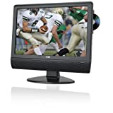 Coby TFDVD1973 19-Inch Widescreen LCD HDTV/Monitor with Slot-Loading DVD Player (Black) ~ Coby
