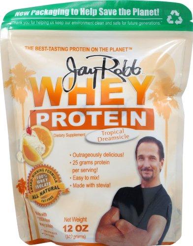 Jay Robb Whey Protein Powder Tropical Dreamsicle -- 12 Oz